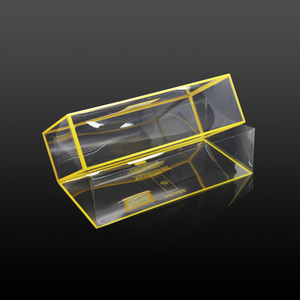 hot sale plastic clear shoe box, PP/PET acetate shoe box packaging made in china