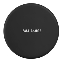 universal mobile cell phone charging pad portable qi fast wireless charger for iphone 8 Plus X