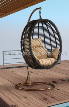 Patio Egg Chair Swing