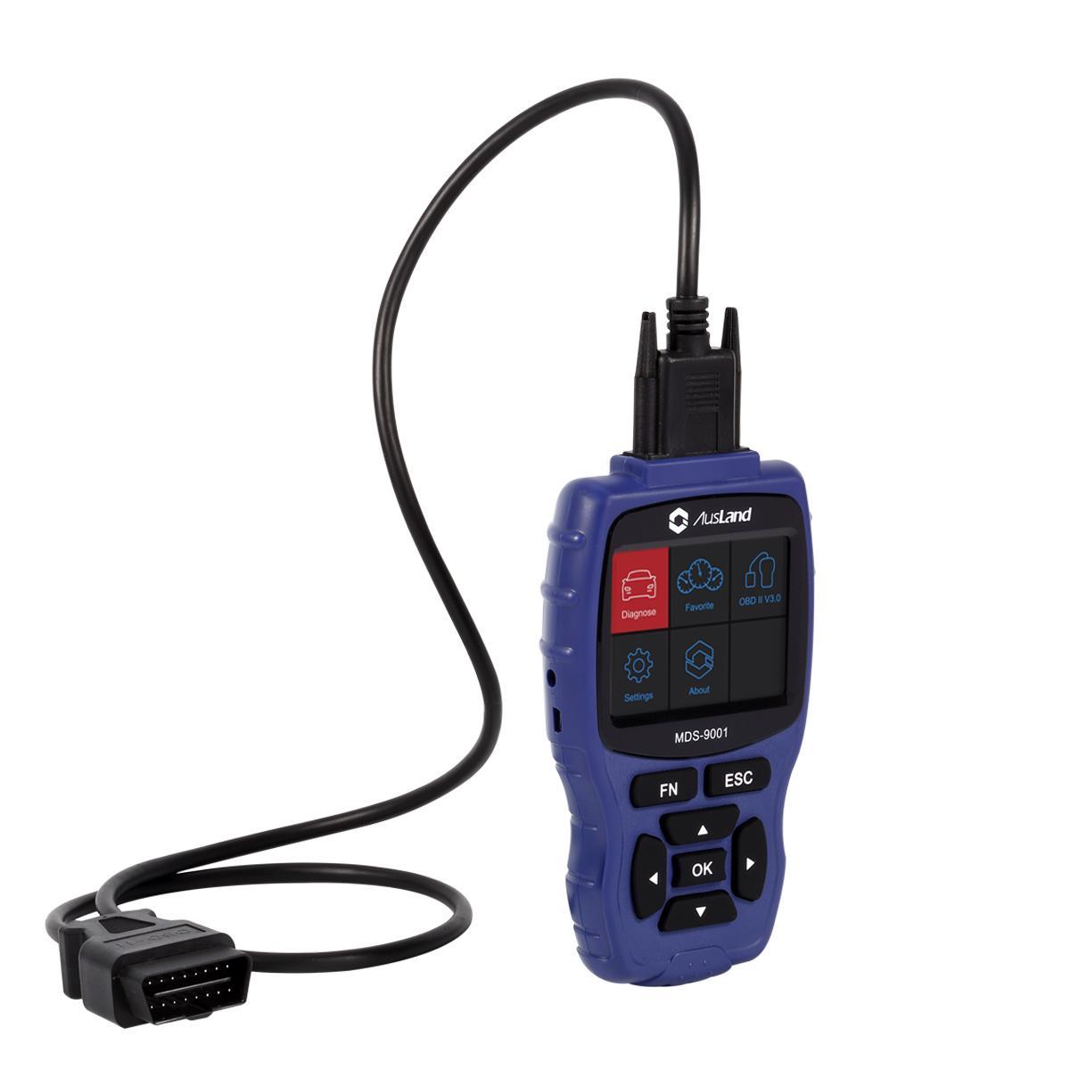 AUSLAND MDS-9001 Multi-Diag Specialist Handheld Car Diagnostic Scan Tool  ECU Programming Tool for L-A-N-D-R-O-V-E-R, View car diagnostic scanner,