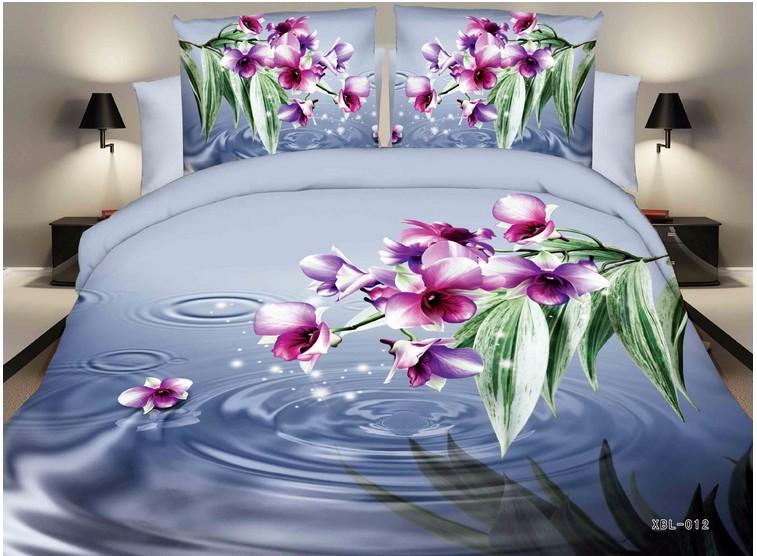 Wholesale Home Textiles Flowers 3d Bedding Sets Duvet