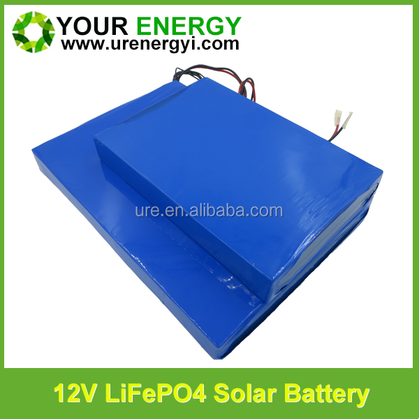 factory price 12v solar energy storage battery high safety 30ah lithium battery with 26650 lifepo4 cell