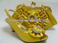 2012 italian shoes and matching bags (SB465G YELLOW1)