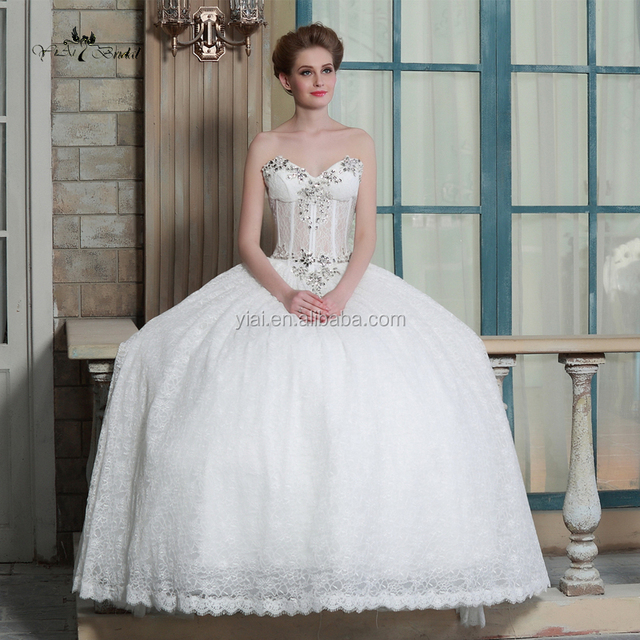 sheer corset bodice wedding gowns-Source quality sheer corset bodice ...