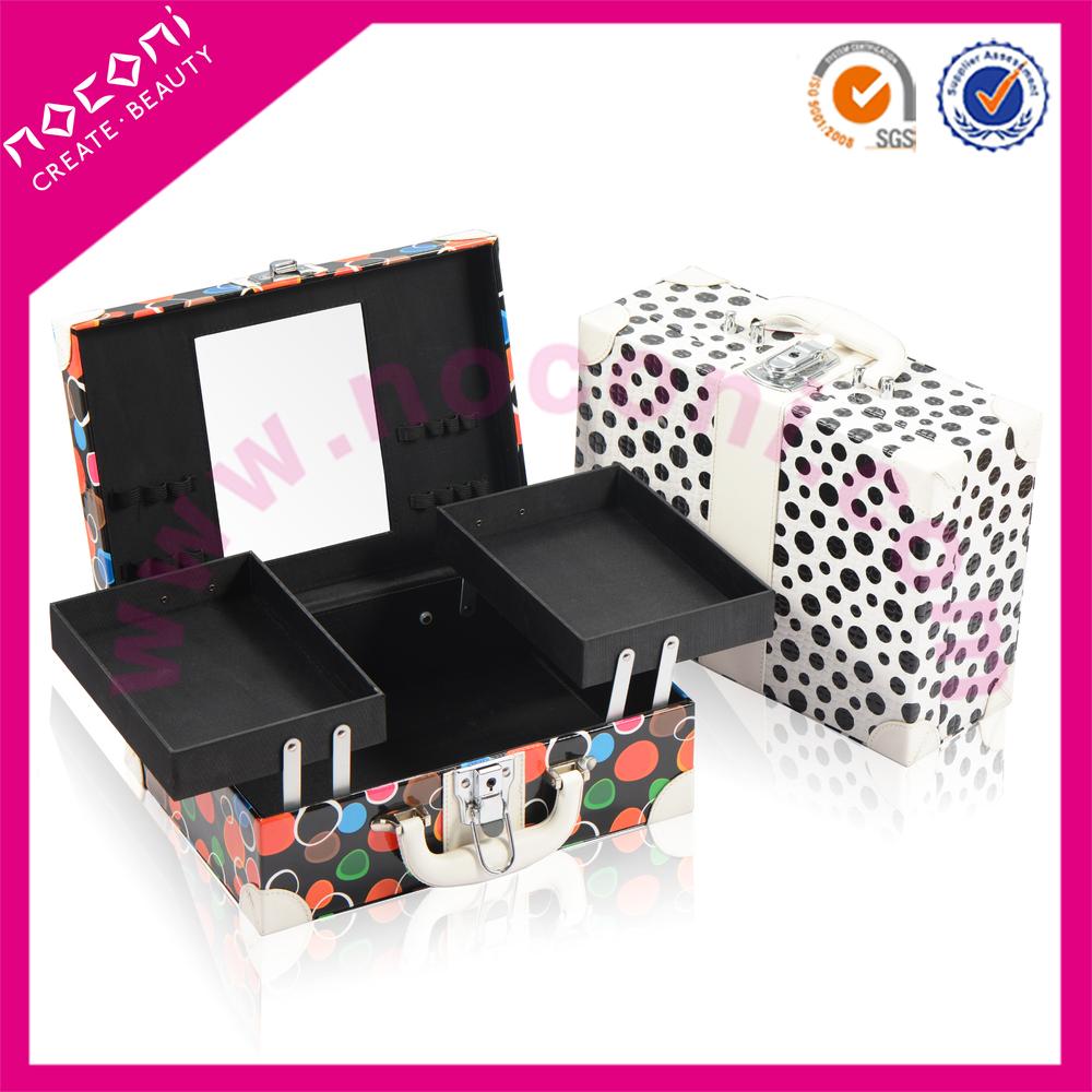 Noconi Latest Square Colorful Cute Design Cosmetic Make Up Case ...