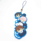 Wholesale Custom Fancy Pendant Japan Cartoon Cute Soft PVC Keychain Keyring
