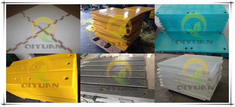 Hdpe marine fender board plastic facing marine fender sheet