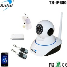 "2017 Saful High Image and Video Quality Wireless Wifi Indoor IP Camera with 1/4"" Color CMOS Sensor"