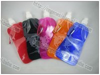 2011 Varieties of Hot Mountain Climbing Sports WaterBag Foldable water bottle cute