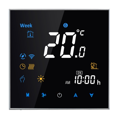 Precise Comfort Control Thermometer Electronic Heating Type LCD Digital Heating Room Thermostat with Sensor