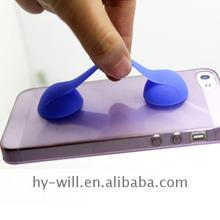 2017 hot sales silicone holder stand phone cable band table Best price high quality