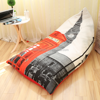 Surprising 2015 Fashion London Big Ben Polyester Bean Bag Chair Triangle Cheap Sofa Lounge Factory Buy London Bean Bag Polyester Bean Bag Triangle Beanbag Sofa Unemploymentrelief Wooden Chair Designs For Living Room Unemploymentrelieforg