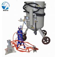 Blasting machine portable/Vacuum blaster/Sandblasting suit