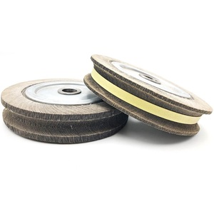 High Quality 250*40*25mm Flap Wheels In Abrasive Tools For Stainless Steel Metal