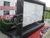 Gaint inflatable outdoor pvc movie screen