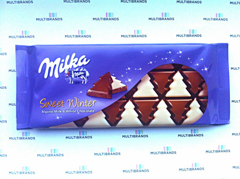 Milka Sweet Winter 100g /limited Edition/