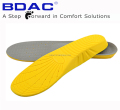 soft PU slow rebound pu footbed insoles for shoe insole pu