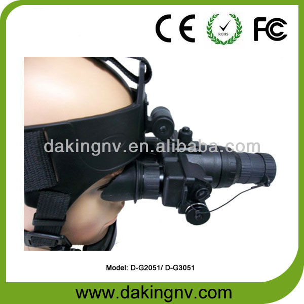 Newest starlight military water proof sight night vision daking goggle with high performance