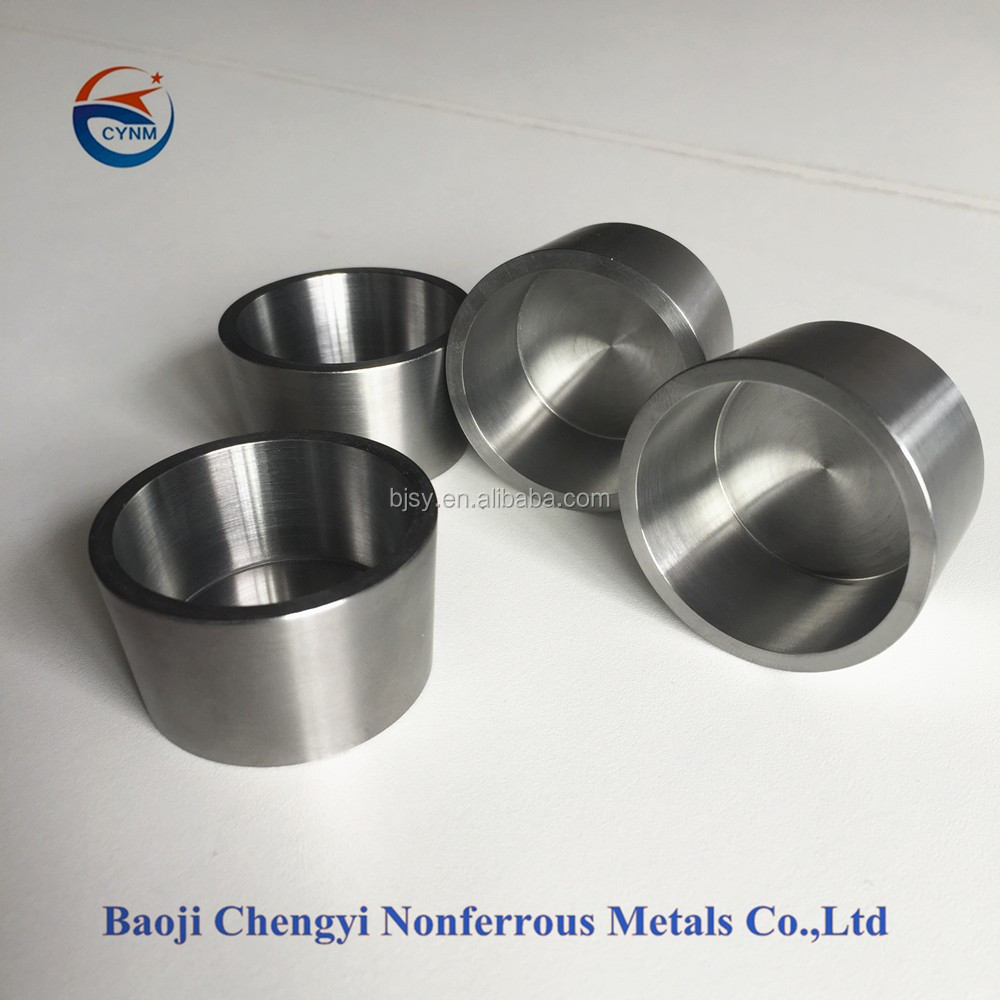 high quality molybdenum refractory crucible