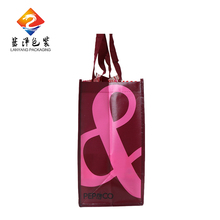 Promotion laminated pp woven non woven shopping bag