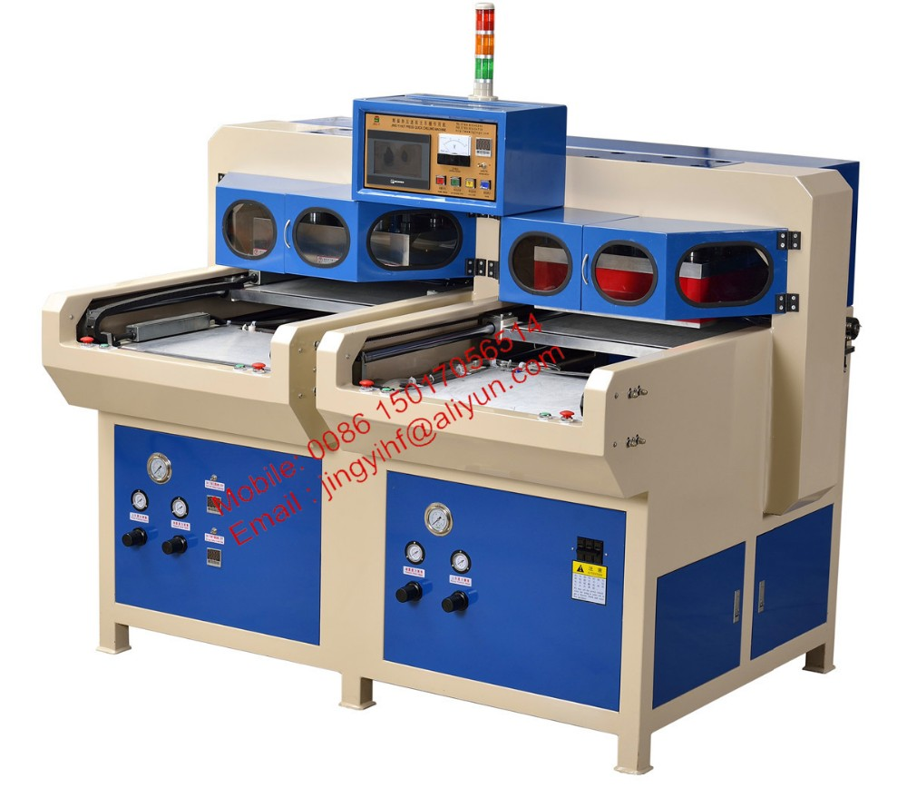 10.8KW Stacked side by side Hot press Cold molding Machine (JYD2-RLY) Made in DongGuan JingYi
