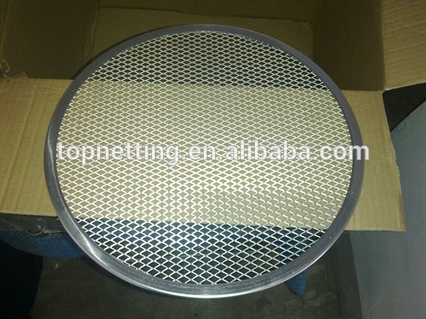 Stainless Steel Pizza Screen Aluminium Expanded Mesh Disc