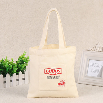 Customized Cotton Canvas Tote Bag Bags Promotion Recycle Organic Whole