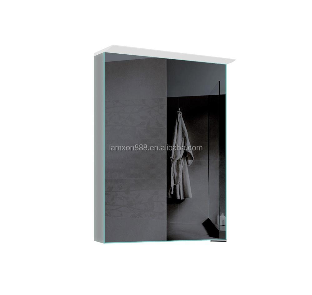 Fluoreszierender Spiegelschrank Für Badezimmer,Moderne Spiegelkabine ...