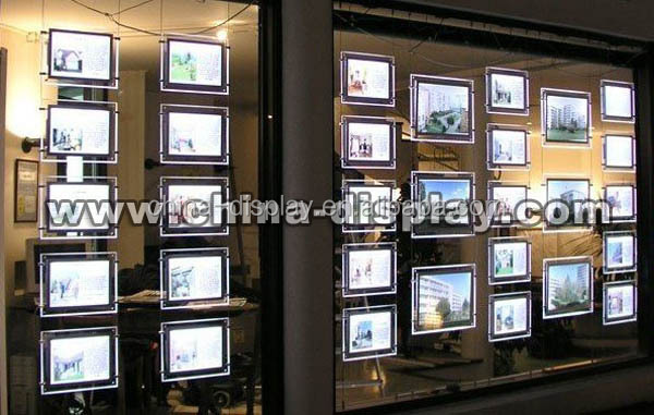 china supplier backlit picture shadow box frames