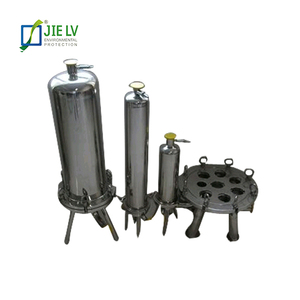 SS304/ SS316 stainless steel multi cartridge filter housing for water treatment