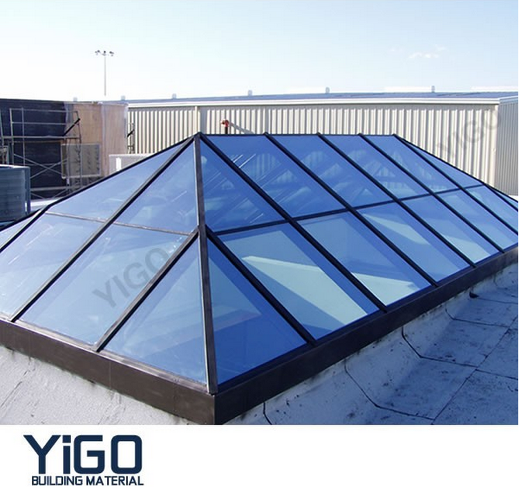 Glass Roof Skylight Material Skylight Cover Roof Panels