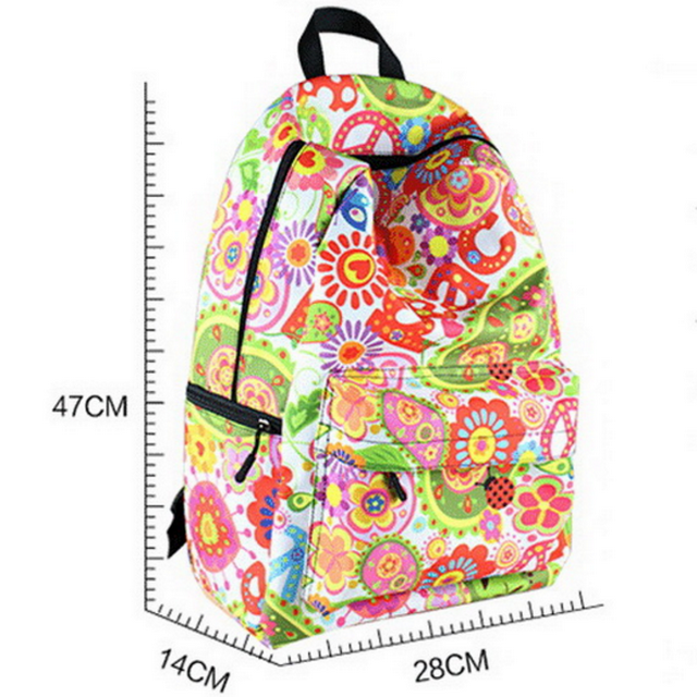 New model sport mountain top outdoor backpack,full print school backpack of latest design