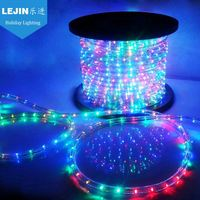 2wires LED christmas rainbow rope light