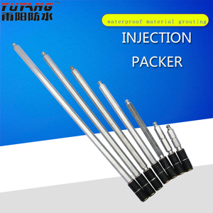 High quality manufacturers direct selling aluminum grout injection packer 10*100mm