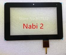 Freies Verschiffen for Nabi 2 NABI2 Kid 2 Gen Tablet Touch Panel Screen Digitizer Glaslinse Ersatz