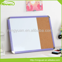 Cheap plastic frame good use top quality dry erase board