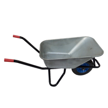 New design construction galvanizedWheelbarrow,pneumatic wheel metal tray wheel barrow price wb5009m
