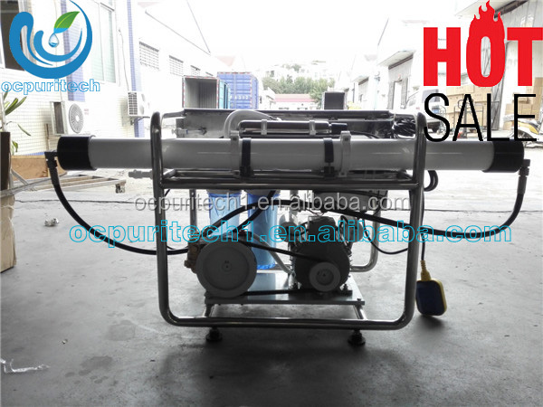 1TPD Small Size Sea Water Desalination Purifier brackish water desalination equipment