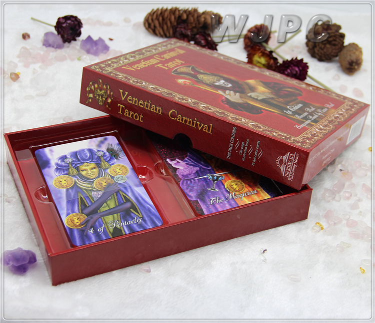 WJPC - Custom printed tarot cards or oracle cards with good quality and special price