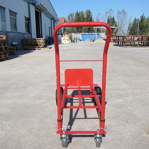Cheap price Steel foldable moving hand truck trolley for farming use
