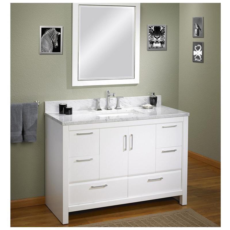 Diy Building Materials Waterproof Bathroom Vanity Double Sink