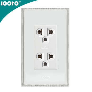2g Universal American Standard Wall Electrical Socket Outlet Type