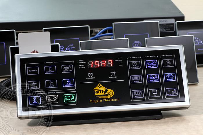 12v Dc Hotel Bedside Control Panel For Guest Room Control