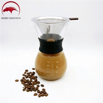 New design and the best popular glass coffee pot