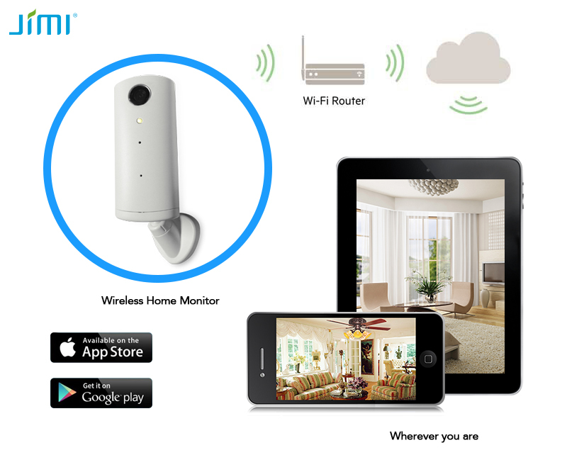 Portable Wi-Fi Camera Wi-Fi Motion Activated Security Light Camera