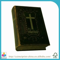 2016 custom overseas bulk cheap mini holy bible offset printing in China