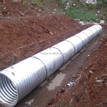 Corrugated Steel Culvert Pipe For Sale 18 Inch Corrugated