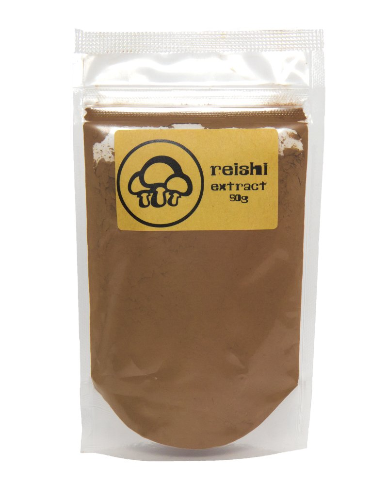 Reishi Mushroom Extract Powder by Appropriated Cultures - Dual-Extract, Organic, Fruiting Body Reishi Extract Powder - 50g bulk powder