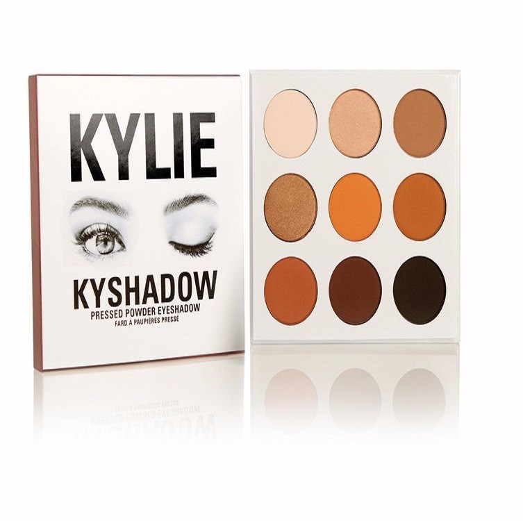 Hot sale dry <strong>eye</strong> shadow 9color kylie waterproof makeup <strong>eye</strong> shadow palette