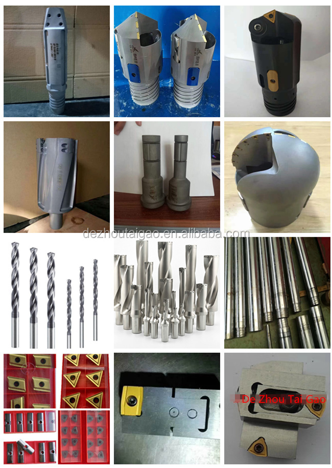 Diameter 26.41-27.7mm BTA drill heads for deep hole drilling